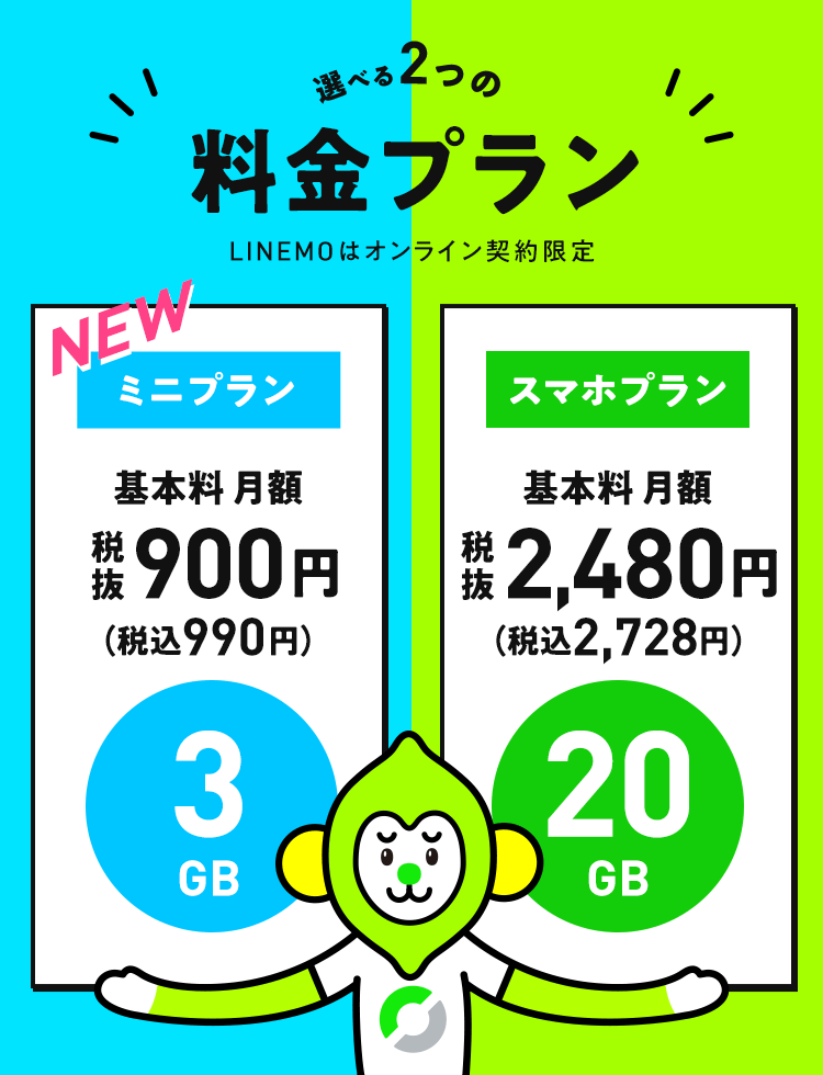 LINEMOの料金プラン